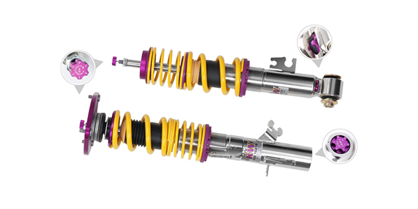 KW Suspension Coilovers for Race and Performance Applications